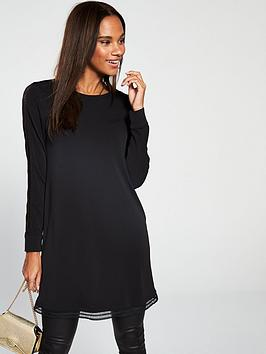 v-by-very-lace-trim-sleeve-tunic-top