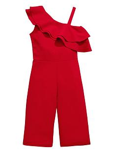 v-by-very-girls-red-one-shoulder-frill-party-jumpsuit
