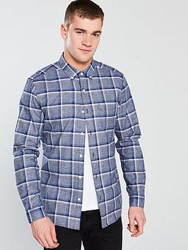 v-by-very-large-check-shirt--nbspnavy