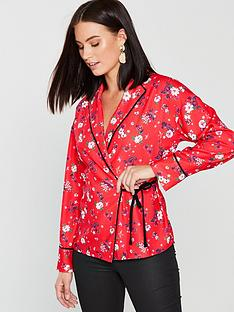v-by-very-unique-pyjama-style-wrap-blouse-print
