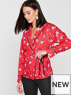 v-by-very-unique-pyjama-style-wrap-blouse-print