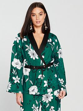 V By Very Unique Co-Ord Jacket - Printed