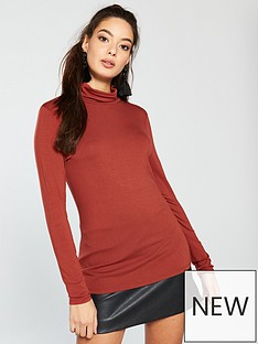 v-by-very-roll-neck-top