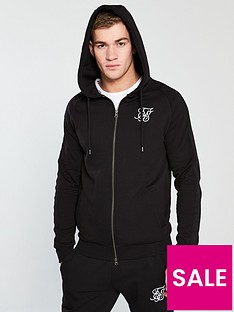 sik-silk-raglan-zip-through-hoodie-black