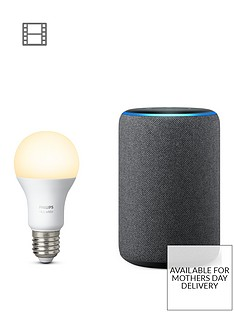 amazon-all-new-echo-plus-2ndnbspgennbspwith-built-in-smart-hub-and-hue-white-ambiance-e27-single-bulb