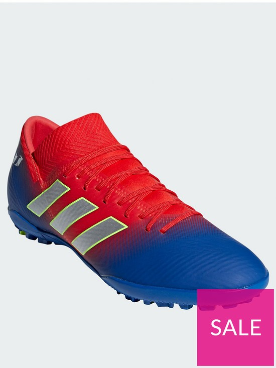 d56257765fd4 adidas Adidas Mens Nemeziz Messi 18.3 Astro Turf Football Boot ...