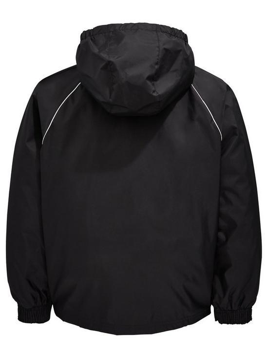 cce219b87f9c adidas Youth Core 18 Rain Jacket - Black