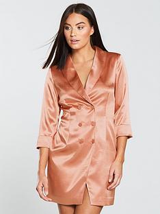 the-girl-code-blazer-dress-blush
