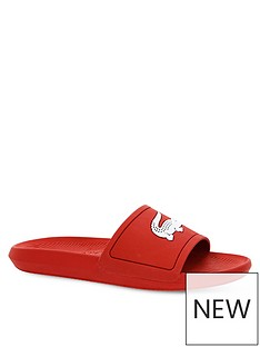 lacoste-croco-sliders-red