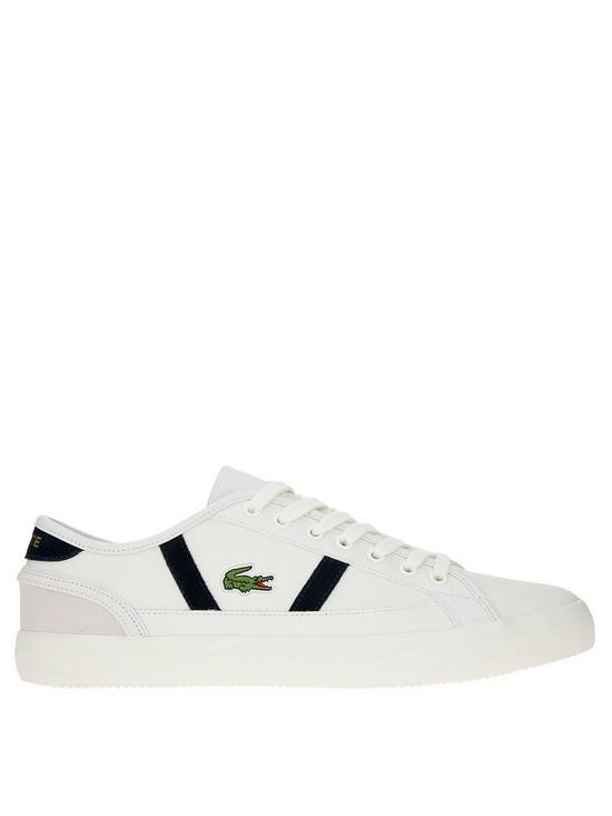 more photos 6076c a1d7c Lacoste Sideline Trainers - White