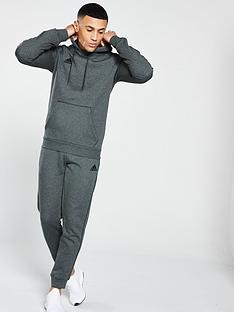 d5c0cee76179 adidas Adidas Mens Core 18 Sweat Hooded Tracksuit