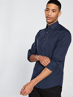 calvin-klein-cannes-fitted-shirt-navy