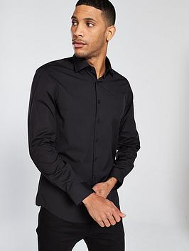 calvin-klein-cannes-fitted-shirt-black