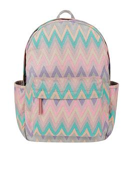 accessorize-metallic-chevron-dome-backpack-multinbsp