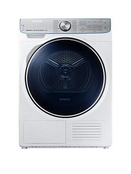 Samsung Dv90N8289Aw/Eu 9Kg Load Tumble Dryer With Heat Pump Technology - White