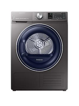 Samsung Dv90N62642X/Eu 9Kg Load Tumble Dryer With Heat Pump Technology - Graphite