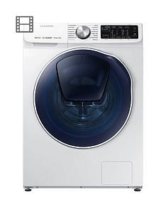 Samsung WD80N645OOW/EU 8kg Wash, 5kgDry, 1400 SpinQuickDrive™ Washer Dryer with AddWash™ - White