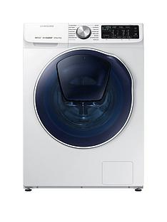 Samsung WD80N645OOW/EU 8kg Wash, 5kg Dry, 1400 Spin QuickDrive™ Washer Dryer with AddWash™ and 5 Year Samsung Parts and Labour Warranty - White
