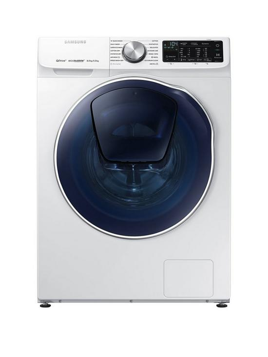 WD80N645OOW/EU 8kg Wash, 5kg Dry, 1400 Spin QuickDrive™ Washer Dryer with  AddWash™ - White