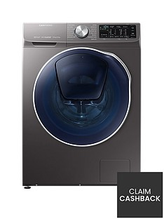 Samsung WD90N64500X/EU 9kg Wash, 5kg Dry, 1400 Spin QuickDrive™ Washer Dryer with AddWash™ - Graphite