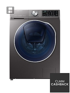 samsung-wd90n64500xeu-9kgnbspwash-5kgnbspdry-1400-spin-quickdrivetrade-washer-dryer-with-addwashtrade-graphite