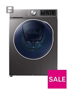 samsung-wd90n64500xeu-9kgnbspwash-5kgnbspdry-1400-spin-quickdrivetrade-washer-dryer-with-addwashtradenbspand-5-year-samsung-parts-and-labour-warranty-graphite