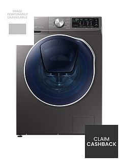 Samsung WD90N645OOX/EU 9kg Wash, 5kg Dry, 1400 Spin QuickDrive™ Washer Dryer with AddWash™ - Graphite