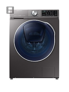 Samsung WD90N645OOX/EU 9kgWash, 5kgDry, 1400 Spin QuickDrive™ Washer Dryer with AddWash™- Graphite