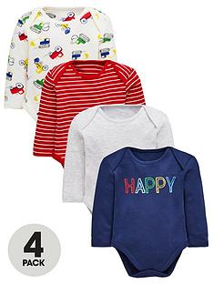 mini-v-by-very-baby-boys-4-pack-long-sleeved-bodysuits