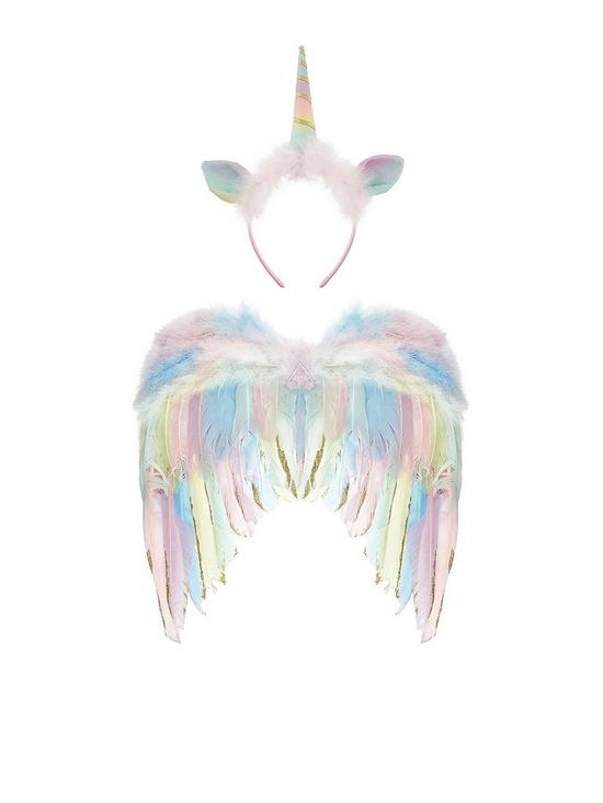 ca6574e48 Monsoon Girls Twinkle Toes Unicorn Dress Up Set