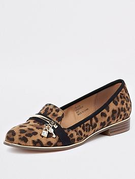 river-island-river-island-leopard-print-lock-key-loafer--brown
