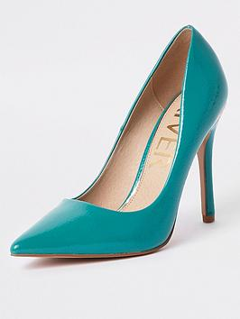river-island-stiletto-court-shoes--blue