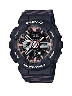 casio-casio-baby-g-black-and-neobrite-pink-functionality-dial-black-and-pink-detail-silicone-strap-ladies-watch