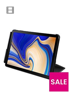 samsung-original-tab-s4-book-cover-with-multiple-viewing-angles-durable-material-and-detatchable-s-pen-holder-black