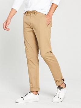 Tommy Jeans Original Slim Fit Chino, Kelp, Size 30, Men thumbnail