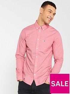 tommy-jeans-classics-poplin-shirt-red