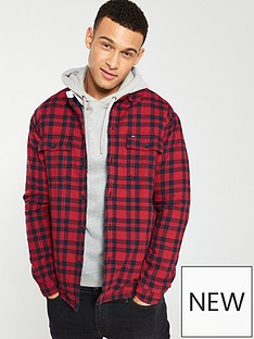 tommy-jeans-padded-check-shirt-red
