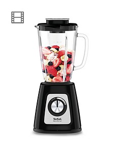 Tefal BL435140 Blendforce II Glass Blender - Black