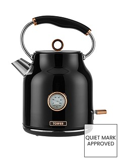 tower-bottega-17-litrenbsptrad-kettle-blackrose-gold