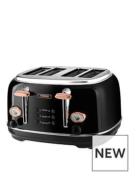 tower-bottega-4-slice-toaster-blackrose-gold