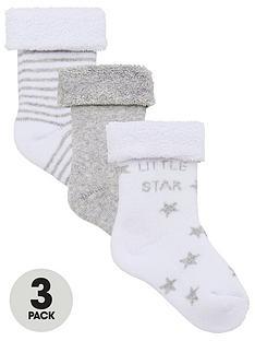 mini-v-by-very-baby-unisex-3pk-little-star-terry-socks