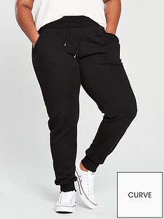 v-by-very-curve-jersey-trouser-black
