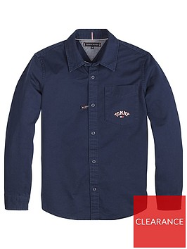 tommy-hilfiger-boys-logo-pocket-long-sleeve-shirt-navy