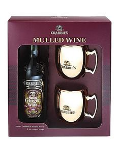 crabbies-mulled-wine-70cl-with-2x-branded-copper-mugs-gift-set