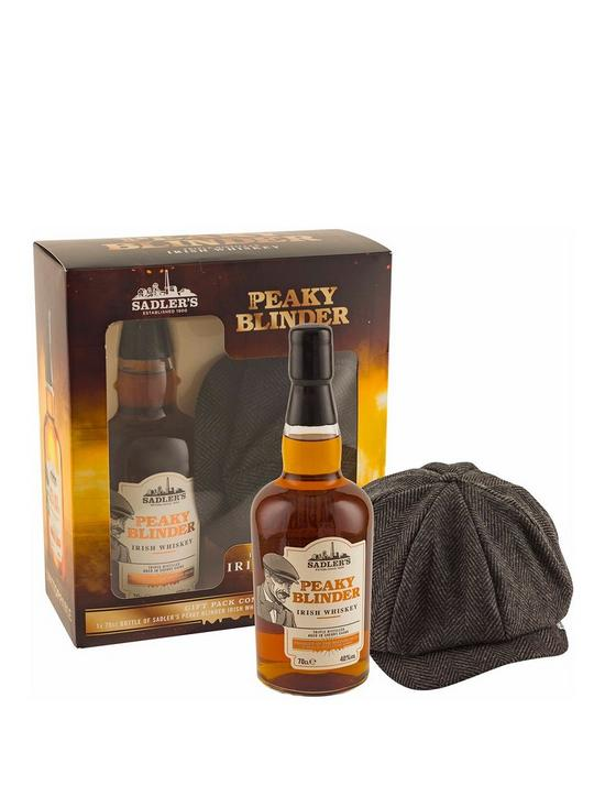 6d9c6c43 Peaky Blinders 70Cl Whisky With Gatsby Style Cap | very.co.uk