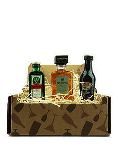 miniture-spirits-trio-in-a-gift-box-baileys-original-jagermeister-and-disaronno-amaretto