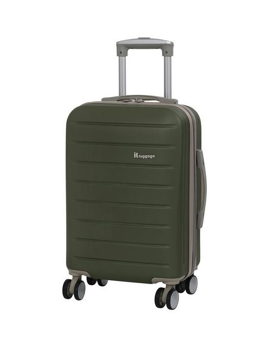 bc9ea74b01 it Luggage Legion 8 Wheel Hard Shell Single Expander Cabin Case ...