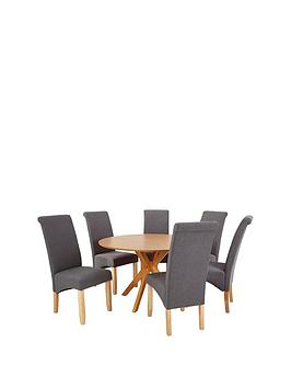 starburst-119-cm-oak-veneer-circular-dining-table-6-chathamnbspfabric-chairs