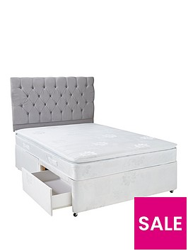 hush-from-airsprung-new-astburynbsppillow-top-divan-bed-with-storage-options-and-next-day-delivery-white