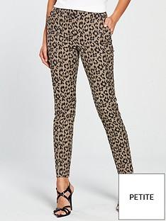 v-by-very-petite-leopard-jacquard-slim-leg-trouser